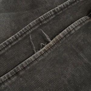 American Eagle Outfitters Pants - American Eagle Grey Corduroy Artist Pants.